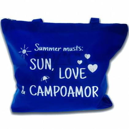 PFCA GESCHENK STRANDTASCHE SUN LOVE AND CAMPOAMOR