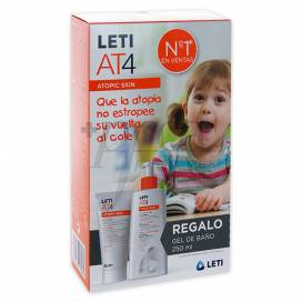LETI AT4 ATOPIC SKIN INTENSIVE CREAM + GEL PROMO