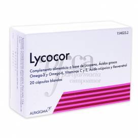 LYCOCOR 20 CAPSULAS