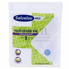 SALVELOX MED MAXI COVER STERILE BANDAGE XXL 5U
