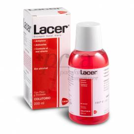 LACER MOUTHWASH WITHOUTH ALCOHOL 200 ML