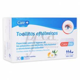 CARE+ TOALLITAS OFTALMICAS 30 U
