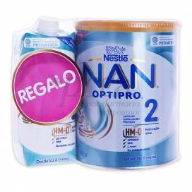 NAN OPTIPRO 2 800 G + NAN 2 500 ML PROMO