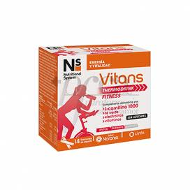 NS VITANS THERMODRINK FITNESS 14 BEUTEL