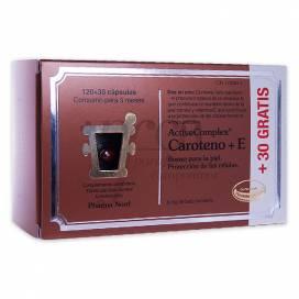 ACTIVECOMPLEX CAROTENO + E 120+30 CAPSULES PROMO
