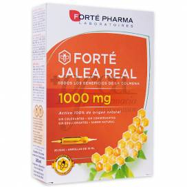 FORTE JALEA REAL 1000 MG 20 AMPOLLAS FORTE PHARMA