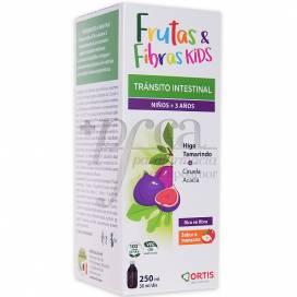 FRUTAS Y FIBRAS KIDS 3Y+ ORTIS 250 ML