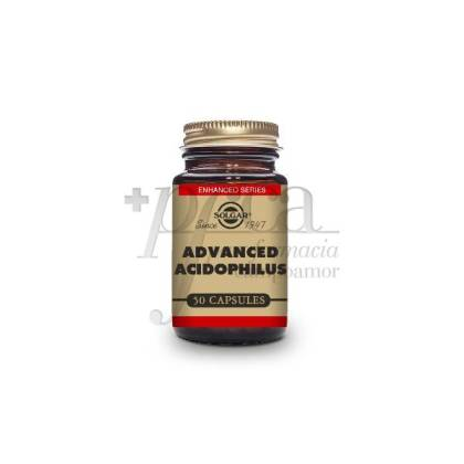 ADVANCED ACIDOPHILUS 50 VEGETABLE CAPSULES SOLGAR