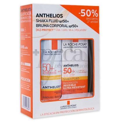 ANTHELIOS SHAKA FLUID+BRUMA CORPORAL SPF50+PROMO