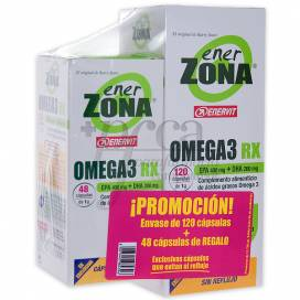 ENERZONA OMEGA 3 RX 120+48 CAPS PROMO