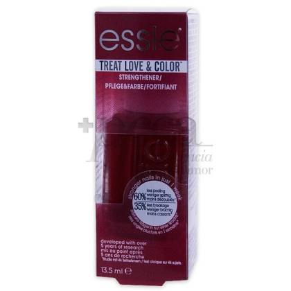 ESSIE NAIL POLISH TREAT LOVE&COLOR 160 RED-Y TO RUMBLE CREAM 13.5 ML