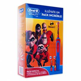 ORAL-B THE INCREDIBLES ELEKTRISCHE ZAHNBÜRSTE PROMO