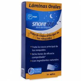 SNOREEZE LAMINAS ORALES 14 U