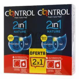 CONTROL 2IN1 NATURE PRESERVATIVOS 6U+6U PROMO