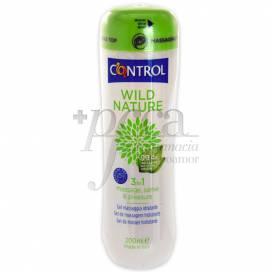 CONTROL WILD NATURE MASSAGE GEL 200 ML