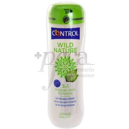 CONTROL WILD NATURE 3IN1 MASSAGE GEL 200 ML