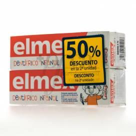 ELMEX DENTÍFRICO INFANTIL 2X 50ML PROMO