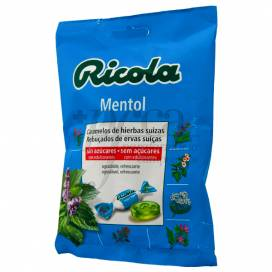 RICOLA MENTOL ZUCKERFREI BONBONS 70 G