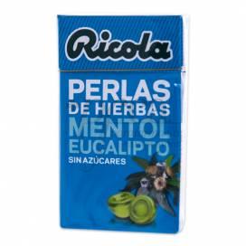 RICOLA MENTHOL EUCALYPTUS PEARLS 25 G