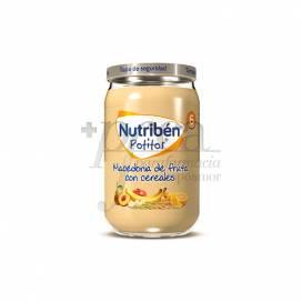 NUTRIBEN MACEDONIA DE FRUTAS Y CEREALES 235 G