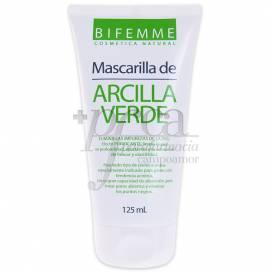 MÁSCARA DE ARGILA VERDE 125 ML BIFEMME