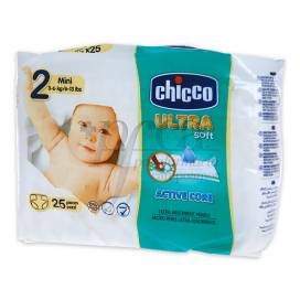 CHICCO DIAPERS SIZE 2 MINI 3-6KG 25U