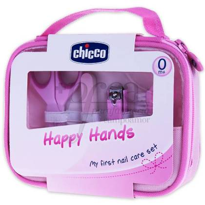 CHICCO HAPPY HANDS ROSA PROMO