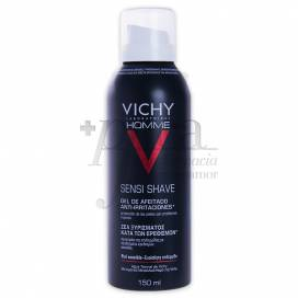 VICHY HOMME GEL BARBEADO ANTI-IRRITAÇÃO 150ML