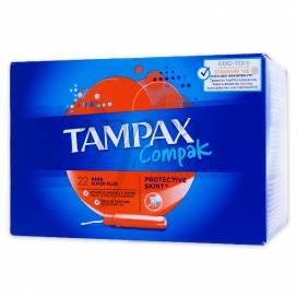 TAMPAX COMPAK SUPERPLUS 20 TAMPONS
