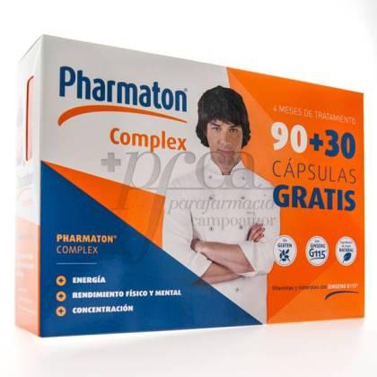 PHARMATON COMPLEX 90 + 30 CÁPSULAS PROMO