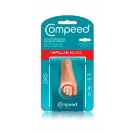 COMPEED BLISTERS AMONG TOES 8 STICKING PLASTERS