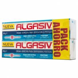 ALGASIV CREMA ADHESIVA 2X 40G PROMO