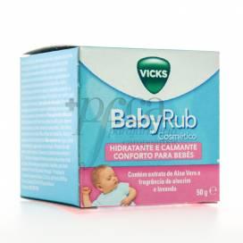 VICKS BABYRUB HIDRATANTE E CALMANTE 50G