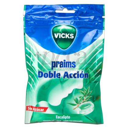 PRAIMS DOUBLE ACTION CANDIES SUGAR FREE