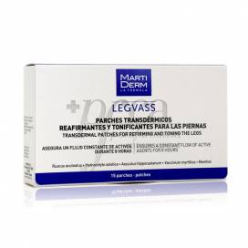 MARTIDERM LEGVASS 15 FIRMING PATCHES