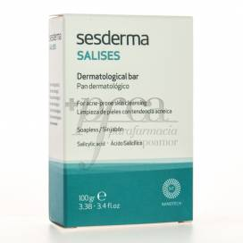 SESDERMA SALISES DERMATOLOGICAL BAR SOAPLESS 100G