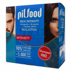 PILFOOD INTENSITY AMPOLLAS CAPS CHAMPU PROMO