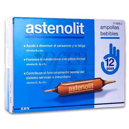ASTENOLIT 12 AMPOLLAS BEBIBLES
