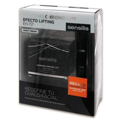 SENSILIS UPGRADE CHRONO LIFT NIGHT CREAM PROMO