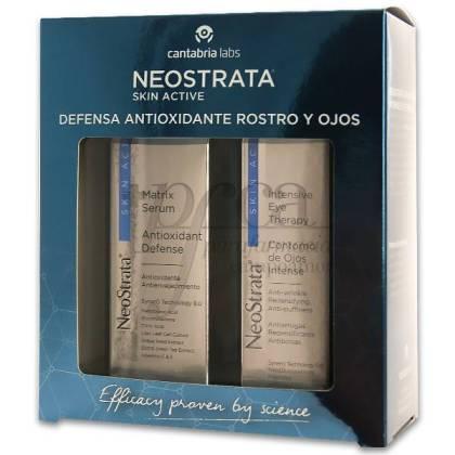 NEOSTRATA SKIN ACTIVE ANTIOX CARA E OLHOS PROMO