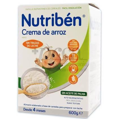 NUTRIBEN CREMA DE ARROZ 600 G