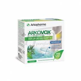 ARKOVOX THROAT PAIN MINT AND EUCALYPTUS 20 TABLETS