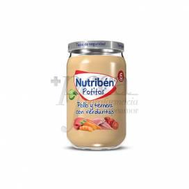 NUTRIBEN HUHN KALBFLEISCH UND GEMÜSE 235 G