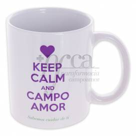 REGALO TAZA PFCA KEEP CALM AND CAMPOAMOR