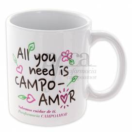 REGALO TAZA PFCA ALL YOU NEED IS CAMPOAMOR