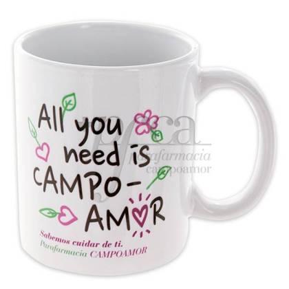 REGALO TAZA PFCA ALL YOU NEED IS CAMPOAMOR