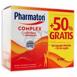 PHARMATON COMPLEX 60 + 30 KASPELN PROMO