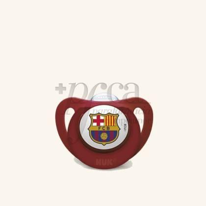 NUK FC BARCELONA CHUPETE SILICONA 18-36M 1U