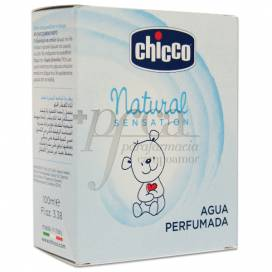 NATURAL SENSATION ÁGUA PERFUMADA CHICCO 100 ML