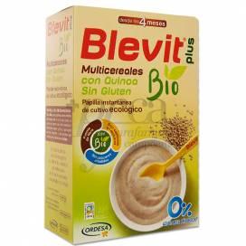 BLEVIT PLUS BIO MULTICEREALES CON QUINOA 250 G